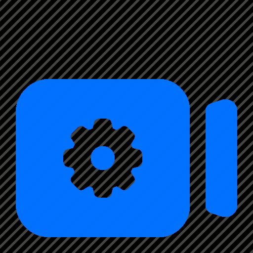 camera, options, settings, video icon