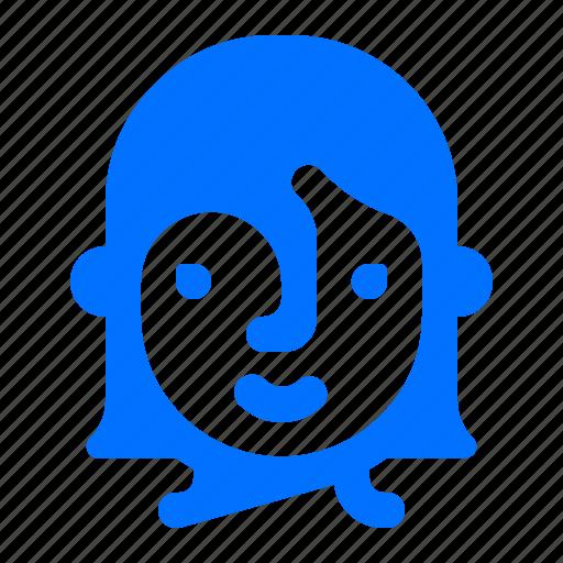 account, profile, user, woman icon