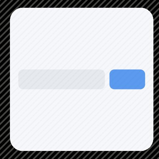 app, display, screen, search, ui, ux, web icon