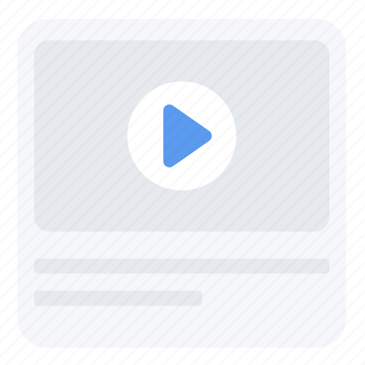 app, multimedia, screen, ui, ux, video, web icon