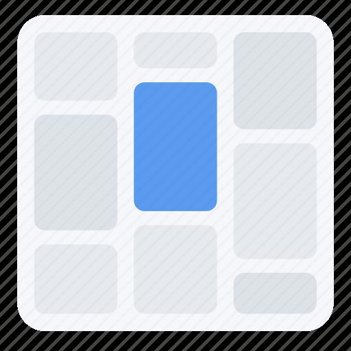 display, screen, tiles, ui, ux, web icon