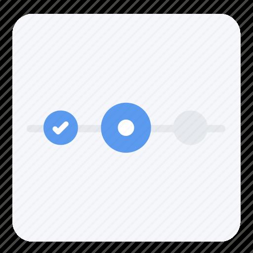 process, screen, step, ui, ux, web icon