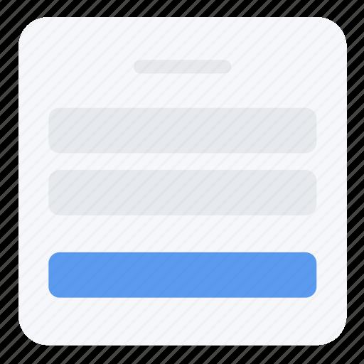 layout, login, screen, ui, ux, web icon