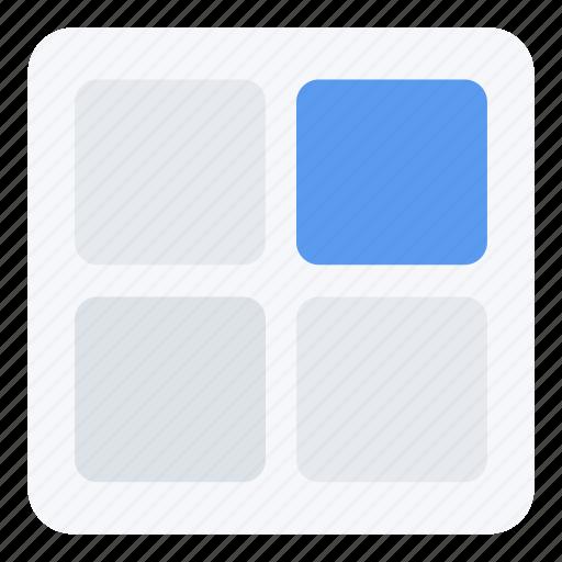screen, tiles, ui, ux, web icon