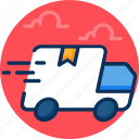 business, concept, delivery, economy, fast delivery, gift, industry, marketing, sales icon icon