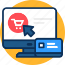 business, click, concept, marketing, money, online, pay, payment, per icon, shopping icon