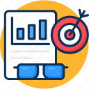 business, cocnept, content, management, marketing, marketing management icon, seo, target icon