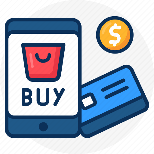 buy online, cocnept, credit card, ecommerce, mobile, money, online, online payment icon, pay icon
