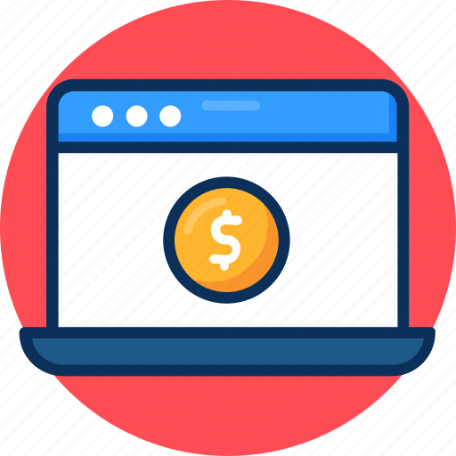 computer, funding platforms, funding platforms icon, fundraisers, investment icon