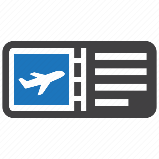 aeroplane, airplane, flight, fly, ticket icon