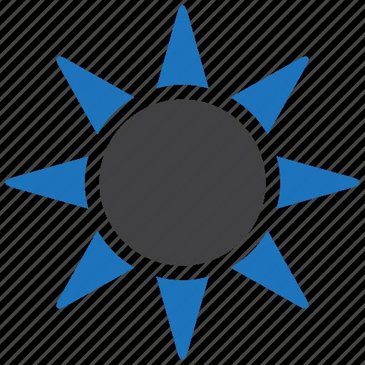 sun, sunlight, sunny icon
