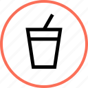 drink, outdoors, soft, travel, vacation icon