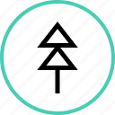 outdoors, pine, travel, tree, vacation icon