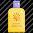 cosmetic, sunblock, sunblock cream, sunscreen, sunscreen lotion icon
