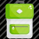 backpack, baggage, haversack, knapsack, travelling bag icon