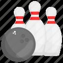 bowling alley, bowling pins, skittles tenpin, strike tenpins, tenpins icon