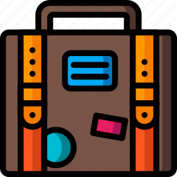 bag, holiday, luggage, suitcase, travel, vacation, vacations icon