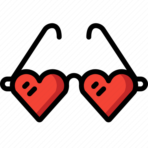 Heart, holiday, sun, sunglasses, travel, vacation, vacations icon - Download on Iconfinder