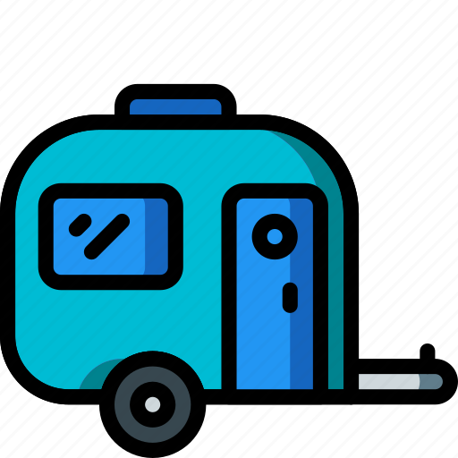 camping, caravan, holiday, travel, vacation, vacations icon