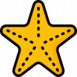 fish, holiday, star, travel, vacation, vacations icon