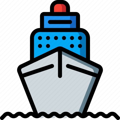 cruise, holiday, ship, travel, vacation, vacations icon