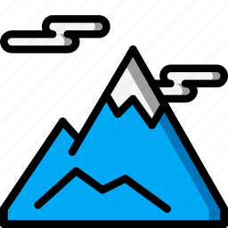 holiday, mountains, skiing, snow, travel, vacation, vacations icon