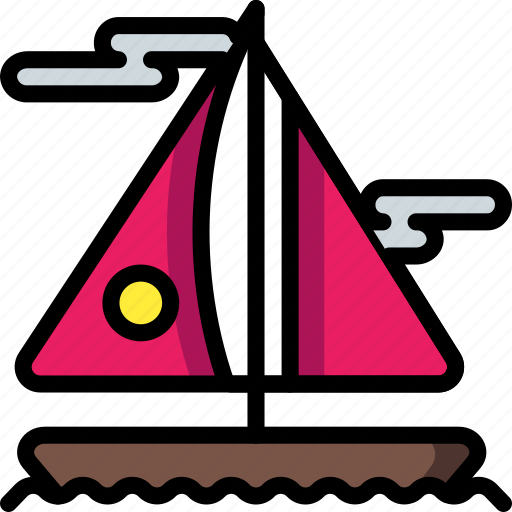 Boat, holiday, sailing, travel, vacation, vacations, yacht icon - Download on Iconfinder