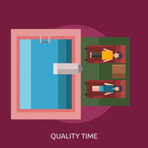 man, pool, quality time, water icon