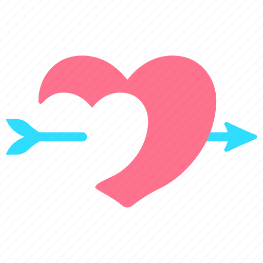 Cupid, dating, heart and arrow, love, romantic, valentine, wedding icon - Download on Iconfinder