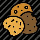 chocolate, cookie, dessert, food, sweet
