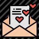 card, letter, love, message, wedding
