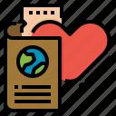 honeymoon, passport, ticket, travel, valentine