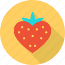 favorite, heart, love, romantic, strawberry, valentine, wedding icon