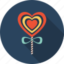 candy, favorite, heart, love, sweet, valentine icon
