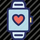 hand watch, lover gift, loving watch, watch, wrist watch icon
