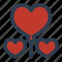 valentine's day, celebration, balloon, party