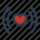 health, heart, rate, romance, valentineday icon
