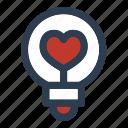 valentine's day, lamp, idea, light