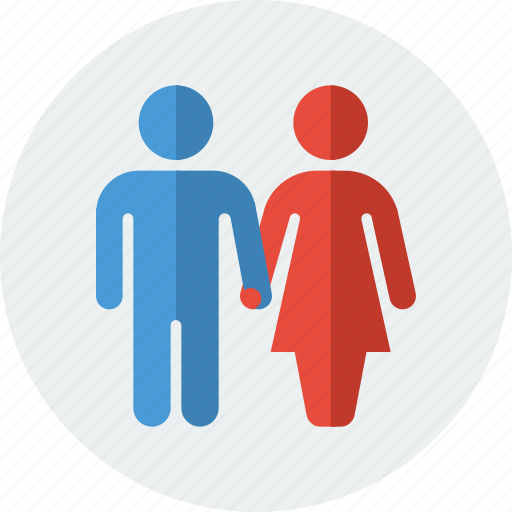 couple, holding hand, love, marriage, spouse, valentine, valentines icon