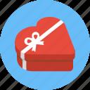 box, chocolate box, gift, heart, heart box, heart shaped box, valentine