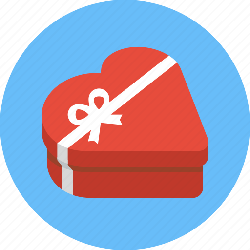 box, chocolate box, gift, heart, heart box, heart shaped box, valentine icon