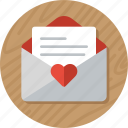 letter, love, love letter, love message, mail, valentine, valentines icon