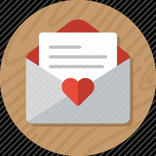 letter, love, love letter, love message, mail, valentine, valentines icon