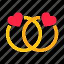 couple, day, diamond, heart, love, ring, stone, valentine, valentines, wedding icon