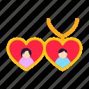 couple, date, day, heart, jewellery, locket, love, marriage, propose, romance, romantic, valentine, valentines, wedding icon