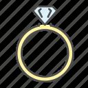 diamond, gift, ring, rings