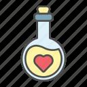 love, potion, romantic, valentine
