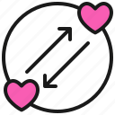 comunication, dating, love, romance, true, valentine icon