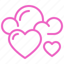 cloud, dating, love, romance, soulmate, sweety, valentine icon