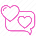 communication, dating, love, romance, soulmate, sweety, valentine icon